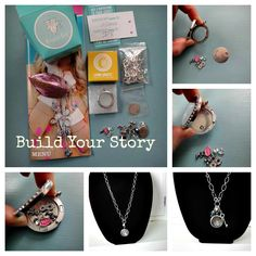 Create your story and your #OrigamiOwl Locket in a few easy steps