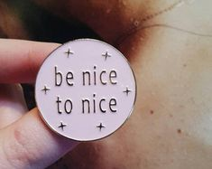 Pin Quote - Enamel Pins, Positive Pin, Treat People With Kindness, Harry Styles, Harry Styles Pin, 1D, 1D Pin, 1D Merch, Positive Vibes