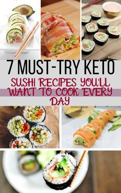 7 Easy To Follow Keto Sushi Recipes You Need To Try This Season