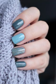 Beautiful blue ________________________________________ gel nails manicure nail art Many women prefer to visit the hairdresser even when they don't have … Blue Gel Nails, Gel Manicure Nails, Light Blue Nails, Pink Nails, Gel Nail Colors, Nail Gel, Stylish Nails, Trendy Nails, Cute Nails