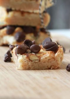 Coconut Almond Bars (gluten free)