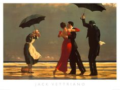 The Singing Butler Print by Jack Vettriano   I love this painting