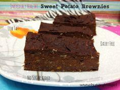 Healthy Sweet Potato Brownies | HungryLittleGirl