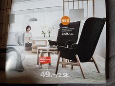 Stuhl IKEA Vedbo 249€ (Herbst  2017)