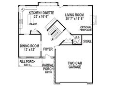 The Ravinia first floor | Phillippe Builders