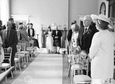 The arrival of the bride in the ballroom –Wedderburn Castle