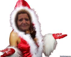 LA BABBINA DI NATALE...............Awesome Pic Created by PhotoMontager.com