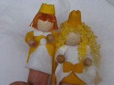 vingerpop prins en prinses