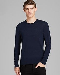 Burberry Brit Jarvis Cashmere Cotton Crewneck Sweater