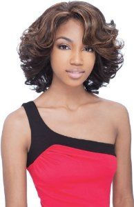 """VICTORIA - Shake N Go Freetress Equal Lace Front Natural Hairline Wig #237 by Equal. $29.99. FUTURA fiber is Curling Iron Safe up to 400'F. Front & Rear Realistic """"Baby Hair"""" for the Natural Look. No Glue, No Tape Necessary. Shake-N-Go FreeTress The luxury Integration Equal Wig.EQUAL is the premium luxury integration of the most expensive synthetic hairs.It's called EQUAL because it looks and feels just like human hair. Boasting its most human like sheen, it's the most manageabl..."""