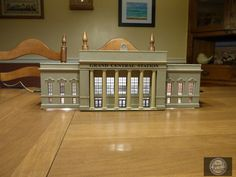 Completed Walthers HO Scale Union Station
