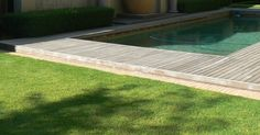 A natural swimming pool completely eliminates the need for chemicals and constant cleaning. We are installers of Natural Swimming Pools Natural Swimming Pools, Cool Deck, Wooden Decks, Decking, Landscapes, Outdoor Decor, Home Decor, Natural Pools, Paisajes