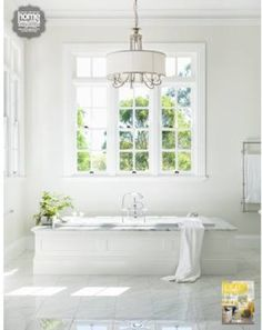 My Mum's beautiful bathroom as featured in the Australian Home Beautiful magazine