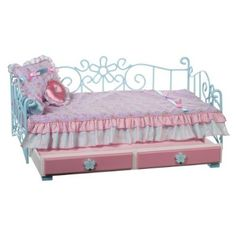 got her this trundle bed on clearance!!!