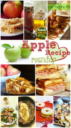 So many tasty apple recipes! Which one shall I make first? from FavFamilyRecipes.com