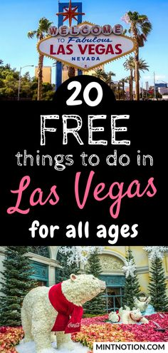 20 Free Things To Do In Las Vegas For All Ages - Free things to do in Las Vegas for all ages. This list is great for families visiting Las Vegas on - Las Vegas Hotels, Las Vegas Deals, Las Vegas Tips, Las Vegas Free, Las Vegas With Kids, Las Vegas Vacation, Vegas Fun, Visit Las Vegas, Vacation Deals