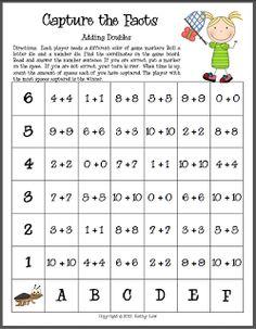 First Grade a la Carte: Capturing Fact Fluency