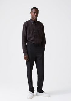 Shot Trouser - Black Suit - Hope STHLM