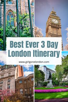 In this 3 day London itinerary, I'm going to unpack the best things to do to maximize your time, experience classic British cuisine, get memorable family photos, and really feel like you've seen the city. Best Countries In Europe, London Night, London Attractions, Things To Do In London, Beautiful Places To Visit, London Travel, Study Abroad, So Little Time, Family Photos