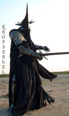 Kropserkel: Dark Rider Nazgul WitchKing costume and armor - this guy does amazing work