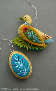 mmmcrafts - Goose a-Laying ornament pattern