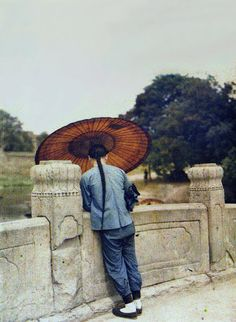 """These images are most-probably the first Colour Photographs of China, taken in 1912 by Albert Kahn. """"In 1909 the millionaire French banker and philanthropist Albert Kahn embarked on an ambitious project to create a colour photographic record of, and for, the peoples of the world."""" Throughout the years Kahn took 72000 pictures, which were until recently relatively unheard of."""