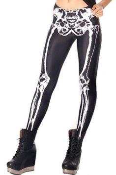 black milk original bones leggings
