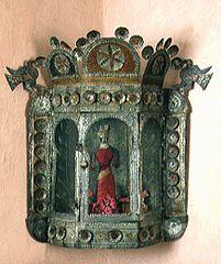 Tin Nicho, Rio Abajo Workshop, c1885
