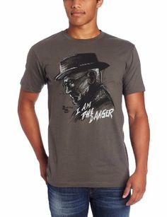 Breaking Bad I Am The Danger Heisenberg Sketch Men's T-Shirt: Amazon.co.uk: Clothing   £13.09 - £6.34 = £19.43