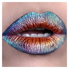 20 Wildly Gorgeous and Creative Lip Art Designs found on Polyvore featuring beauty products, skincare, lip care, lip treatments and lips