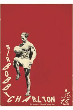bigmagnets:  Sucker for Soccer, Bobby Charlton.