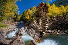 Old mill in Crystal, Colorado