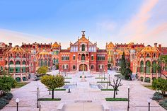 Barcelona's Hospital de Sant Pau, photographed by David Cardelus