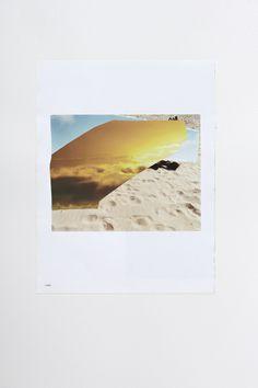 Pabli Stein, Cada vez mas cerca, Collage 82 x 62 cm, 2011