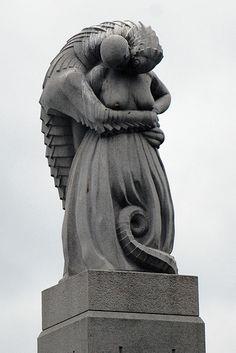 GUSTAV VIGELAND * Norvegian * 1869-1943 ** sculpture **  Frognerparken, Oslo. ~ the beast