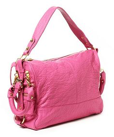 Here is another purchase i did  today.  Only 19.99 and it retails for over 100.00.   Look at this #zulilyfind! Fuchsia Mira Satchel by Amrita Singh #zulilyfinds