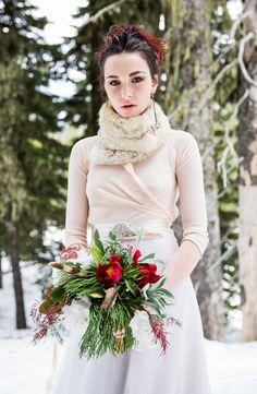 Jenna Saint Martin Photography, Bramble Floral Design, Bridal Ensemble by The Nature of Isa