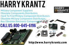 The Harry Krantz Company provides same day shipping from the largest in-stock inventory of qualified hard to find, obsolete and DMS electronic components with over 900,000 individual line items of electronic components and related product, stored and maintained in an ESD-protected facility. http://www.harrykrantz.com