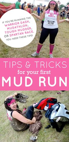 Taking on #PrettyMuddy for the first time? Here's some top tips to get you through.