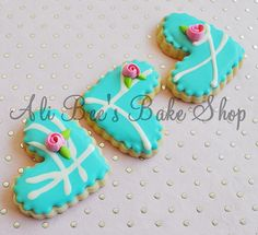 My Cookies for CQ Swap 2010 - Hearts by Ali Bee's Bake Shop, via Flickr