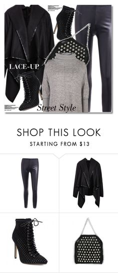 """""""Lace It Up"""" by svijetlana ❤ liked on Polyvore featuring laceup, polyvoreeditorial and twinkledeals"""