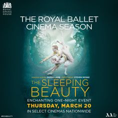 Watch The Royal Ballet perform The Sleeping Beauty in theaters nationwide on March 20th only! Get tickets: http://www.fathomevents.com/event/the-sleeping-beauty?utm_source=DanceAdvantage4Dancers&utm_medium=BeautyBanner&utm_campaign=ROHBallet