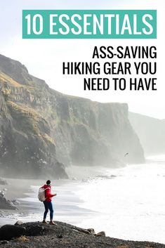 Bring these 10 essentials of hiking gear on every day hike so you can overnight in an emergency. This simple survival gear could save your life in a pinch. #hiking #hikinggear #hikingtips #survivalgear #missadventurepants via @MissADVPants
