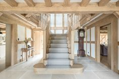 Surrey Manor - Border Oak - oak framed houses, oak framed garages and structures. Barn Conversion Interiors, Border Oak, Oak Frame House, Barn Renovation, Timber Frame Homes, English House, Cottage Interiors, House Goals, My Dream Home