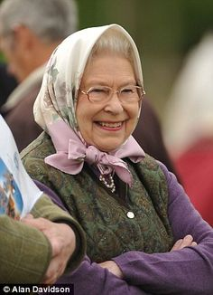 Looking remarkably cheerful as she enjoyed the day's events in the grounds of Windsor Castle, the Queen was in her element.   The monarch's Highland pony - Balmoral Erica, scored a victory in the Highland Championship in the Copper Ring - Royal Windsor Horse Show, May 10 2012