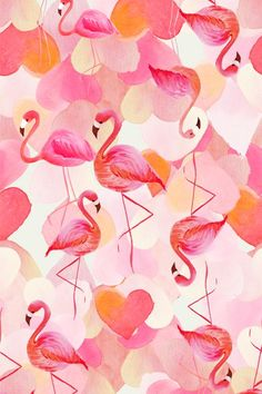 Pink Flamingo Gold Crown Wall Art Feminine Nursery