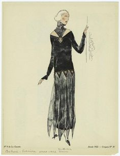 [Woman in black evening gown, 1922.] Looking for Downton Abbey -esque images? The Picture Collection at the Mid-Manhattan Library has you covered! #nypl