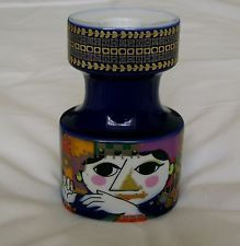 Bjorn Wiinblad 1950s 1001 NIghts Theme Mid Century Candle Stick Holder