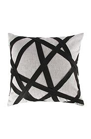 ABSTRACT APPLIQUE 47X47CM SCATTER CUSHION