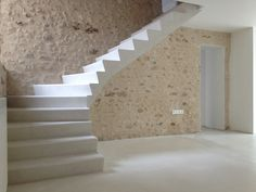 Stone carved stairs Smith & Barber would like to create. http://smithandbarber.com